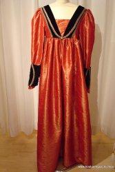 Renaissance-Kleid aus Taft