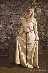 Cotte - Unterkleid - mit  abgerundetem Ärmelsaum