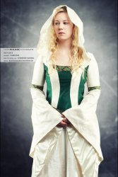Mittelalter Fantasy Hochzeitskleid - Herr der Ringe