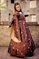 Renaissance Kleid, Tudor / Elisabethanisch