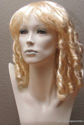 Blonde Schillerlocken Perücke