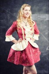 Mini Rokoko Kleid, Marie Antoinette